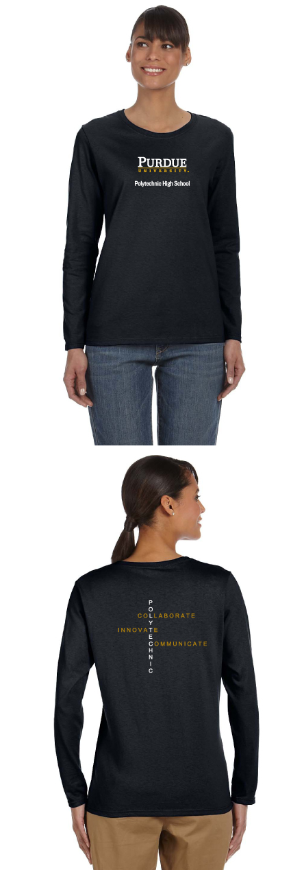 Gildan Ladies' 5.3 oz. Long-Sleeve T-Shirt
