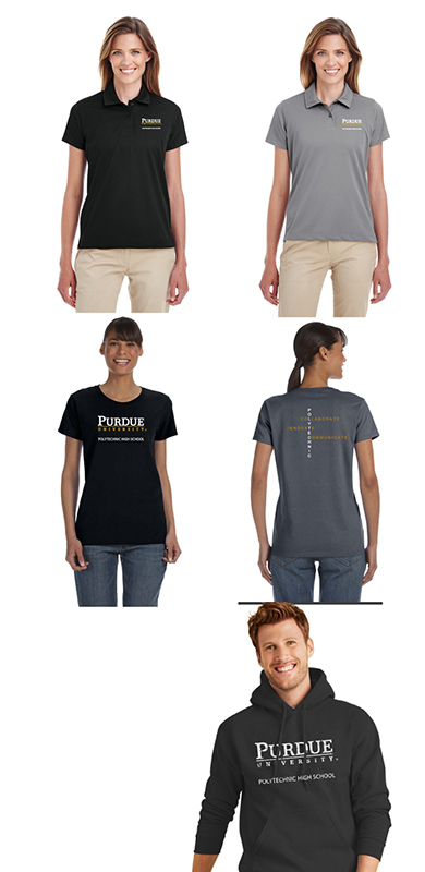 Purdue Polytechnic apparel package3 - WOMEN's